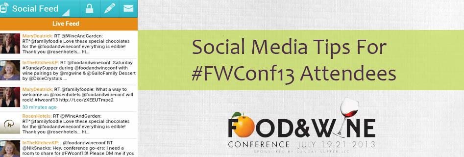 Event Social Media Tips