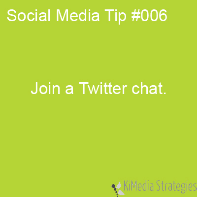 Join a Twitter Chat
