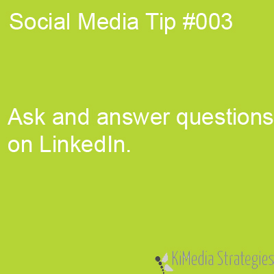 LinkedIn Questions and Answers Help You Showcase your Knowledge
