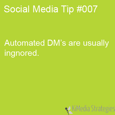 Automated DM's Suck!