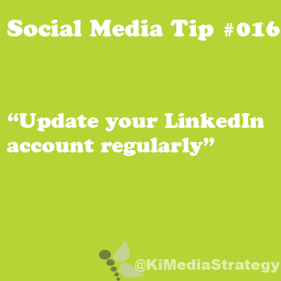 Update Your LinkedIn Account